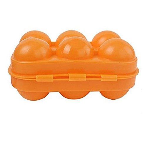 Demarkt Eierhouder, eierplank voor koelkast, eieren, opbergdoos, multifunctionele box, transportbox, koel-/vriescombinatie (6 vakken)