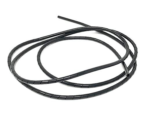 Moto Protector Cubrecables Espiral Envoltura para Cables - 6mm X 1.5m Largo