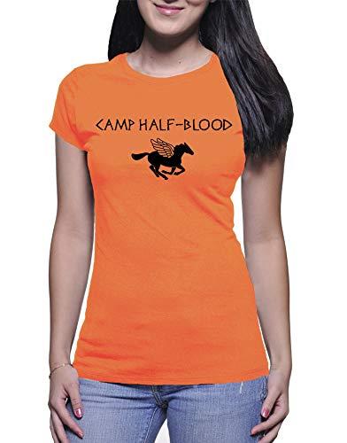 Camiseta Babylook Feminina Camp Half Blood (M)