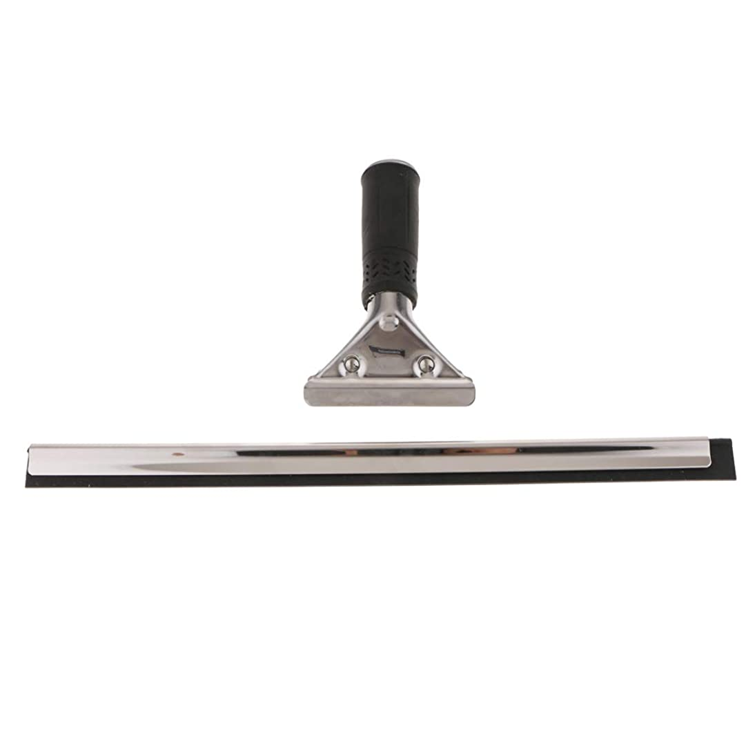 チーズデジタル実際B Baosity 窓用 ガラスワイパー 手持ち式 スクラバー ウィンドウワイパー 汚れ取り ミラーシャワー   - 40cm