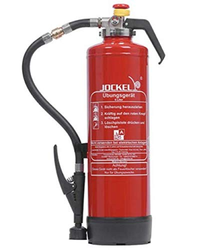 6Liter Wasser Trainings Übungslöscher wiederbefüllbar mit Druckluft Trainings- und Schulungs-Feuerlöscher für Ausbildung Brandschutzhelfer von MBS-FIRE