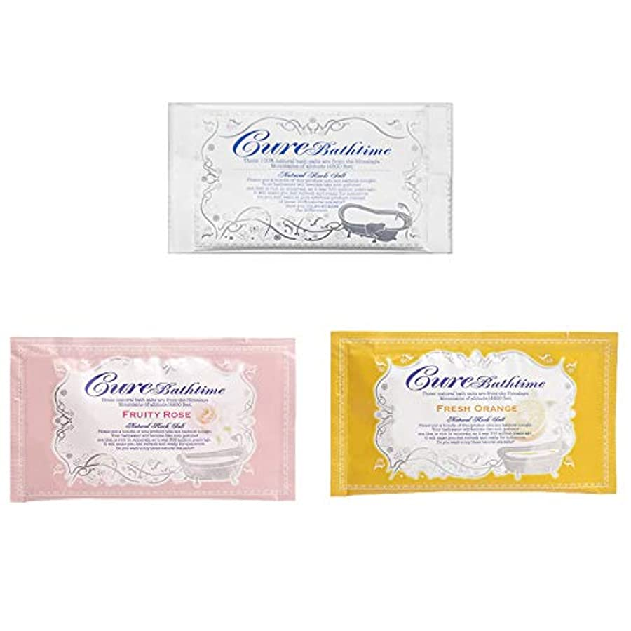 傾向があります一貫した合意Cureバスタイム Bathtimeセット(無香料6包?フルーティローズの香り5包?フレッシュオレンジの香り5包 20g×16包セット)