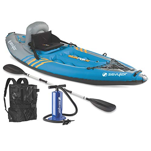 Sevylor Quikpak K1 1-Person Lightweight Kayak