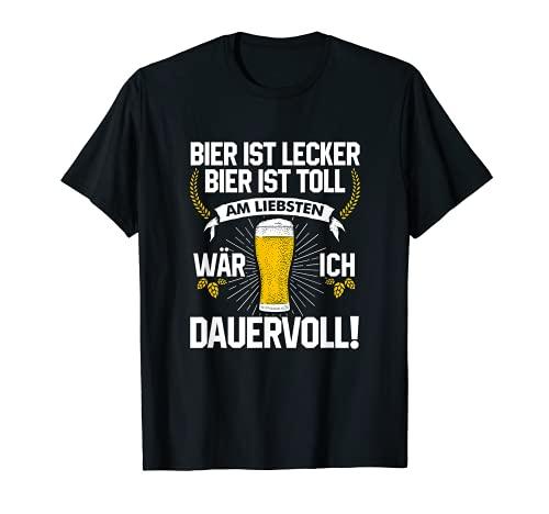 Bier ist lecker Bier ist toll am liebsten wär ich dauervoll