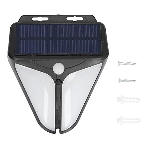 FOLOSAFENAR Lampada da Parete Solare, a Doppio sensore Impermeabile per lampione Stradale per Cortile recintato all'aperto
