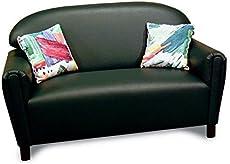 Brand New World Furniture FSVT100 Brand New World School Age Premium Vinyl Upholstery Sofa, Teal