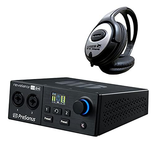 Presonus Revelator io24 - Interfaz de audio y auriculares Keepdrum
