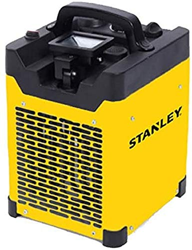Stufa elettrica da cantiere industriale, gamma INDUS, 3000 W, proiettore LED orientabile