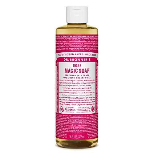 ネイチャーズウェイ ドクターブロナー マジックソープ magic soap ローズ 473ml ネイチャーズウェイ