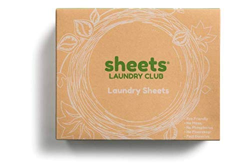 Laundry Detergent Sheets - Fresh Linen - 50 Sheets for 50 Loads - Hypoallergenic- Eco-Friendly - Plastic Free - Biodegradable