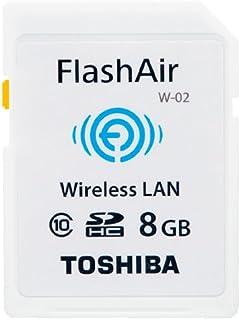 東芝 SDHCメモリーカード(FlashAir) 8GB SD-WC008G