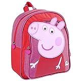 CERDÁ LIFE'S LITTLE MOMENTS, Mochila Infantil Peppa Pig-Licencia Oficial Nickelodeon para Niñas, Rosa, Edades recomendadas-3-6 años