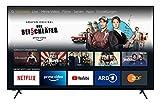 homeX UA65FT5505 Fire TV - 65-Zoll-Fernseher (4K UHD, HDR, Alexa-Sprachsteuerung, Triple-Tuner) [Modelljahr 2021]
