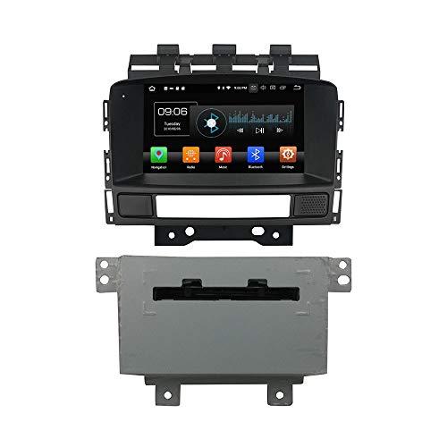 Android 9.0 Octa Core Autoradio Radio DVD GPS Navigation Multimedia-Player Auto Stereo für OPEL Astra J 2011 2012 unterstützt Lenkradsteuerungs mit 3G WiFi Bluetooth frei 8G SD-Karte (Zollfrei)
