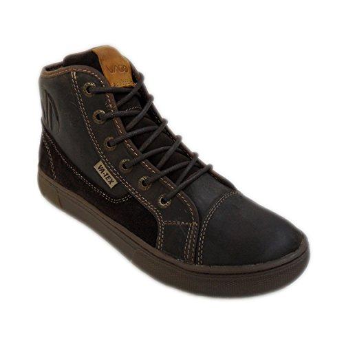 Vado - Jungen Schuhe Sneaker High Va-Tex Halbschuhe 44303 KURT Dk. Brown braun EU 36