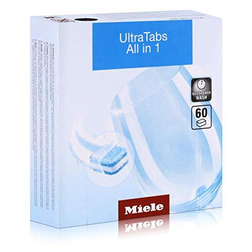 Miele&CIE Ultra Tabs All in 1 11259350 (VE60) Zubehör für Geschirrspüler, Wasch- und Trockengerät 4002516208396