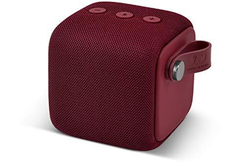 Fresh 'n Rebel ROCKBOX BOLD S Ruby Red | IPX7 Wasserdichter Bluetooth Lautsprecher