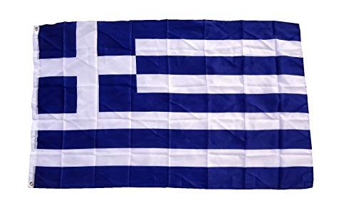 Grand drapeau de la grèce 150 x 250 cm