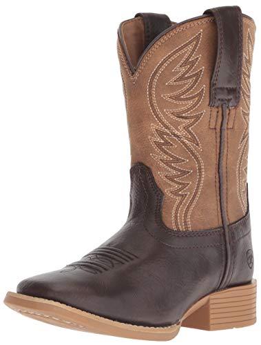 ARIAT girls Western Boot, Fudge Sickle, 6 Big Kid US