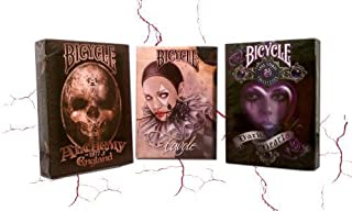 Lot 3 Deck Bicycle Fantasy Art Pack Favole Alchemy II Anee Stokes II Playing Cards