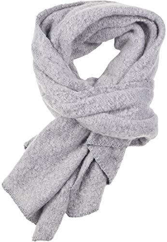 Urban Classics Herren Basic Winter Scarf Schal,  Grau (Grey 00111), Einheitsrgröße