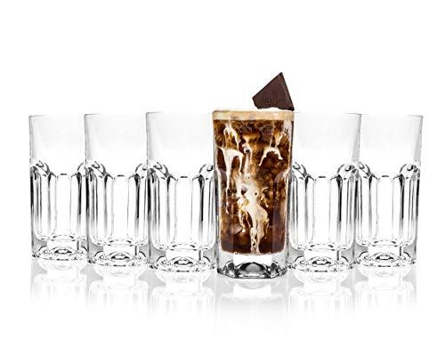 RCR Crystal Provena Lot de 6 Verres à Long Drink 37 cl