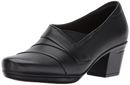 Clarks Women's Emslie Warbler Pump,Black,7.5 M US