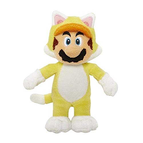 Super Mario 3D World - Cat Mario Plüschtier [UK Import]