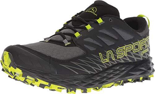 La Sportiva Lycan GTX Running Shoe, Carbon/Apple Green, 46