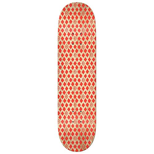 Krooked Skateboard PP Dymonds Red 8.06 x 31.8