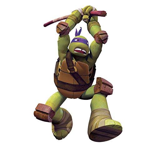 RoomMates Stickers muraux Amovibles pour Enfants Motif Tortues Ninja Donatello