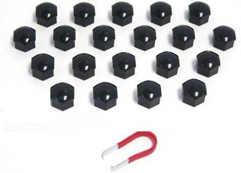 BLACK Dealing full Max 51% OFF price reduction LUG NUT COVERS FOR PORSCHE 986 BOXSTER 987