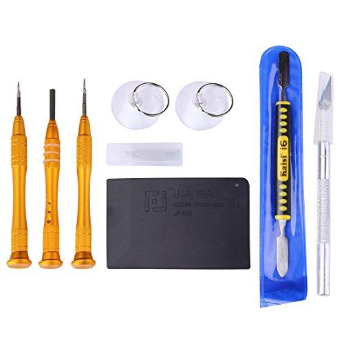 Schroevendraaier 8 in 1 professionele schroevendraaier reparatie tool openen kit voor iPhone 6s openen repareren demontage gereedschap voor smartphone
