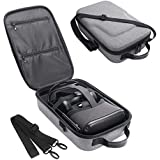 Simumu Travel Case for Oculus Quest VR Gaming Headset and Controllers Accessories Carrying Bag(Gray)