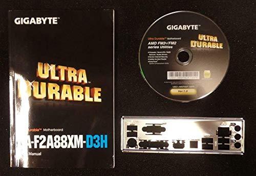 Gigabyte GA-F2A88XM-D3H Rev3.0 - Handbuch - Blende - Treiber CD