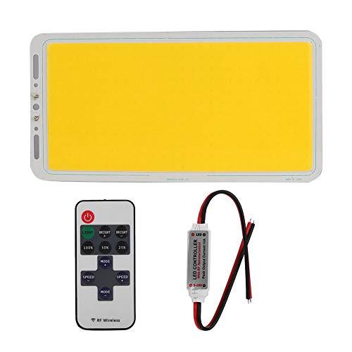 FECAMOS Chip Integrado COB, Fuente de luz integrada con disipación de Calor Chip LED COB Bajo Consumo de energía para Reflector LED para luz de Techo(WAM White, Pisa Leaning Tower Type)
