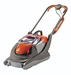 Cuts close to walls, fences and over edges Easy to carry and folds compact for easy storage Single lever adjustment of the cutting heights, offering four heights of cut from 13 mm to 32 mm Large 30 L grass box 1800 watt power supply Cable length 12 m
