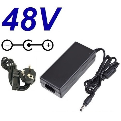 CARGADOR ESP ® Ladegerät Aktuelle 48V Ersatz für Switch Prosafe Netgear FS108P PoE Netzadapter Netzteil Replacement