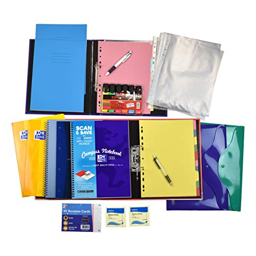 Mixed Stationery Bundle for Students and Revis