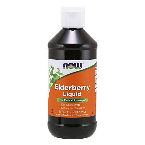 Elderberry Liquid, 8-ounce.
