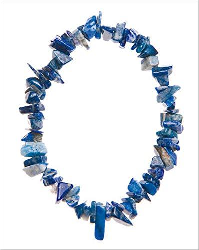 Bracelet Baroque Lapis Lazuli - 8 Cm Environ