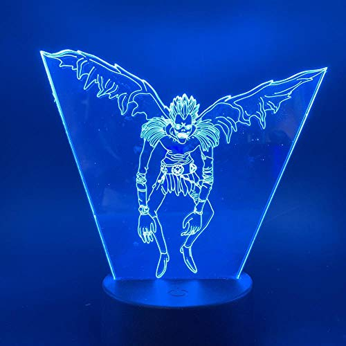 Zcmzcm 3D Nachtlichter Led Comic Bild Nachtlicht Touch Sensor Farbwechsel Nachtlicht Für Kinder Kinderzimmer Dekoration Licht 3D