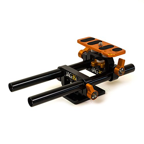 Jag35 KBPV2-DSJ6TPS DSLR Baseplate (Black/Orange)