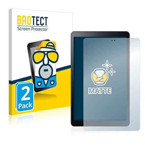 BROTECT 2X Entspiegelungs-Schutzfolie kompatibel mit Samsung Galaxy Tab A 10.5 2018 LTE Displayschutz-Folie Matt, Anti-Reflex, Anti-Fingerprint