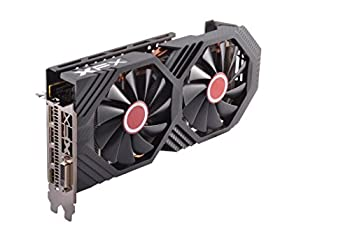 XFX Radeon RX 580 GTS Black Edition 1405MHz OC+ 8gb 256bit GDDR5 DX12 VR Ready Double Dissipation Dual BIOS 3xDP HDMI DVI PCI-E AMD Graphics Card  RX-580P828D6