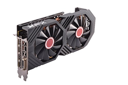 XFX Radeon RX 580 GTS Black Edition 1405MHz OC+, 8gb 256bit GDDR5, DX12 VR Ready, Double Dissipation, Dual BIOS, 3xDP HDMI DVI, PCI-E AMD Graphics Card (RX-580P828D6)