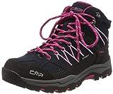 CMP Unisex-Kinder Kids Rigel Mid Shoe Wp Trekking- & Wanderstiefel, Blau...