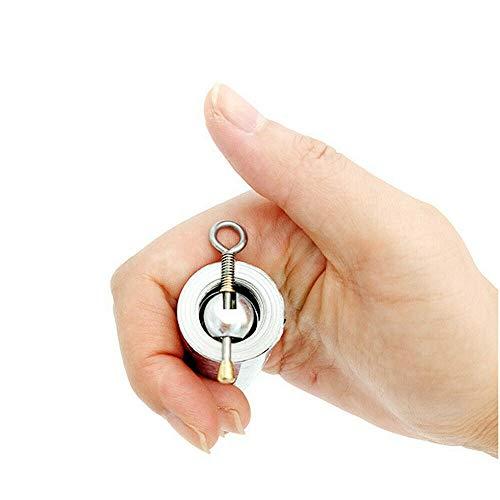 Magia Pocket Puntello Magico Bacchetta Magica Portatile Staff Magico Telescopico Puntelli Arti Marziali Staff Metallo Maghi Puntello Magico Telescopico Bacchetta Puntelli 110 cm