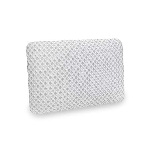 SensorPEDIC Conforming Memory Foam Travel Pillow, One Size, White