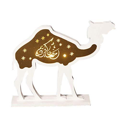 Ramadan LED Dekorationen,Arabisches Muslimisches Ramadan-Dekorationshandwerk Für Muslimische Tischdekoration DIY Home Party Supplies
